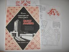 Sears Century of Progress Quilt Booklet 1934