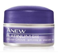 AVON ANEW PLATINUM CREAM  DAY TRAVEL SIZE 0.5 OZ