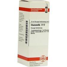 CHAMOMILLA D 12 Dilution 20ml PZN 2112401