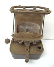 Antique Old Metal Cast Iron 1886 Florence Lamp Stove Sad Iron Heater Parts