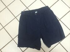 IZOD GOLF SHORTS Classic Dark Navy_Preppy Fratty _Pleated Front_Mens 32W