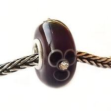 Abalorio/Plata 925 y Cristal  Murano/ Murano glass bead/