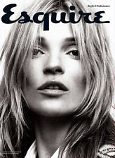 ESQUIRE UK Magazine September 2013, KATE MOSS LIMITED EDITION COVER (SEALED)