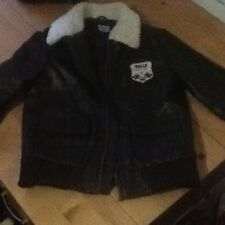Size 3-4 Year Baby Boy Brown Flying Jacket