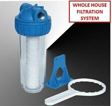 WHOLE HOUSE FILTRATION SYSTEM (a Better Value than Dupont Universal Filtration)
