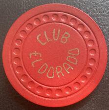 Club El Dorado Las Vegas $5 Chip 1948 Dots Mold Excellent Condition CG040947