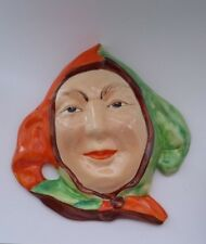 RARE... BESWICK JESTER Wall Mask, no 279 Issued 1934-54