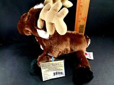 GANZ CHRISTMAS Reindeer Moose Plush Stuffed Animal Toy Holiday