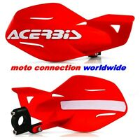HAND GUARDS ACERBIS UNIKO RED ENDURO HONDA CRF250X CRF450X 2005 - 2017