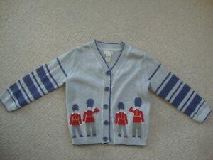 Monsoon baby boy's cardigan 18-24 months - London Guards