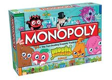 NEW! MONOPOLY SPECIAL EDITION MONOPOLY MOSHI MONSTERS BOARD GAME