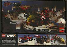 X7418 LEGO Spazio - Pubblicità del 1990 - Vintage advertising