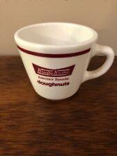 2ca0ccecf61 ADVERTISING KRISPY KREME DOUGHNUTS RESTAURANT WARE COFFEE MUG HOMER LAUGHLIN