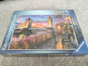 Ravensburger Jigsaw Puzzle 1000 Piece  - Tower Bridge At Sunset - New & Sealed
