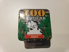 Zebra Zoo Benders Posable Magnetic Toy & Collectible Tin by Hog Wild Toys NEW