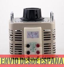 VARIAC- Transformador de salida  variable CA 12 Amp 0-250V (TDGC2-3KVA)