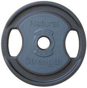 20kg Premium Urethane Coated Cast Iron Olympic & Standard Lifting Weight Plates