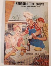"""RARE CANADIAN """"CANADIAN TIRE CORP. 1961 SPRING & SUMMER CATALOGUE- EXCELLENT"""