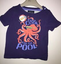Boys Age 6-9 Months - Joules T Shirt - Too Cool For The Pool