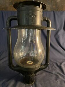 Vintage Large Dietz Pioneer Street Pole Lamp