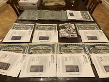 142 GENUINE  SUPER PETCHILI w/ PASSCO 1913 LUNG TSING U HAI RWY BONDS + BONUS