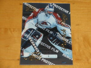 1996-97 Select Certified Artist's Proof #81 Patrick Roy /500