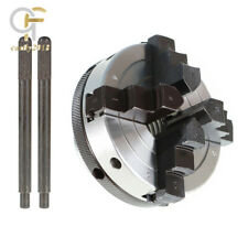 3 Inch 4 Jaw Chuck For All Wood Lathes With 1 Inch By 8 Tpi Spindles