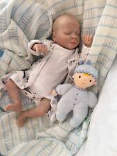 """Muñeco ® Thomas dormido Bebé Niño Reborn Doll Prem tamaño recién nacido 17"""" Muñecas Cherish"""