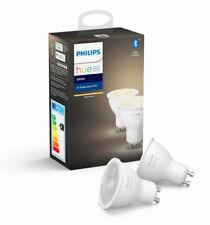 Philips Hue - 2x Single Bulb GU10 - White - NEW