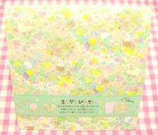 Lemon / Animals Elephant Snail Rabbit Square Letter Memo Pad / Japan Stationery