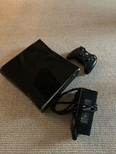 Great Condition Microsoft Xbox 360 S Slim 250Gb 1439 Console + Remote / 4 Games