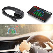 5.8'' Universal OBD II Car HUD Head Up Display  Speedometer Dashboard Projector