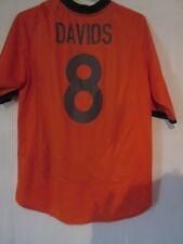Davids 8 2000-2002 Holland Hogar Camiseta De Fútbol Talla XL/43466