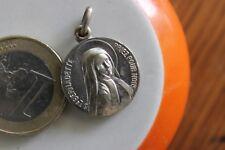 Vintage Medaille St Bernadette Signed JB 1.9 cm MR3