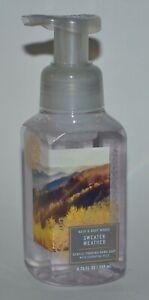 1 NEW BATH & BODY WORKS SWEATER WEATHER GENTLE FOAMING HAND SOAP WASH 8.75 OZ