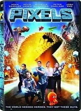 Pixels: The Movie (2015) DVD NEW
