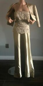 Montage by Mon Cheri Special Occasion Mother of the Bride Dress Size 12