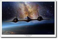 On the Edge of Night (Large)  by Mark Karvon - SR-71 Blackbird - Sled Driver