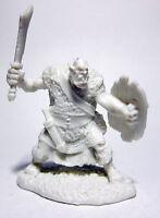 1 x BLACK ORC GLAIVE - BONES REAPER figurine miniature grunt rpg jdr 77429
