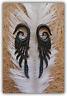 Carved Horn Ear Gauge Pair Expander Piercing Bone Hook Organic Tribal Stretcher