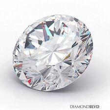 0.78 Carat G/SI1/Ex Cut Round Brilliant AGI Earth Mined Diamond 5.93x5.97x3.58mm