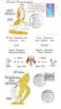 Frankreich FDC Ersttagsbrief Klappkarte 1979 LIPHI Berlin Mi.Nr.2121+ Berlin 578
