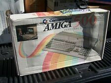 Commodore Amiga 500 in original box with AC adapter, SOLD AS IS