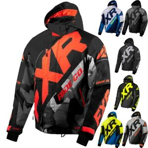 FXR Racing F20 CX Mens Sled Winter Sport Snowmobile Jackets