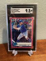 Donruss Optic 2019 Pete Alonso Rated Rookie Pink Velocity Prizm 126/199 SGC 9.5