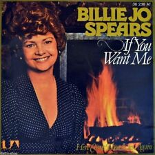 """7"""" BILLY JO SPEARS If You Want Me / Here Come Those Lies Again UA 1977 like NEW!"""