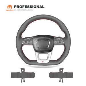 Custom Genuine leather Steering Wheel Cover Wrap for Audi Q3 2019 SQ5 2018 2019
