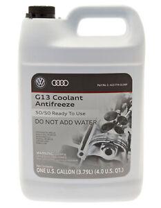 Genuine OEM VW Volkswagen Audi G12 G13 Engine Pre Mix Pink Coolant Antifreeze
