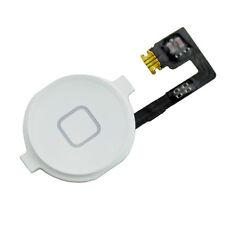 iPhone 4S Homebutton Menü Taste Knopf  Flex Kabel Home Button Weiß