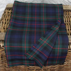 Murray of Atholl Modern Scottish Tartan Fat Quarter (75CM x 50CM) Fine 100% Wool